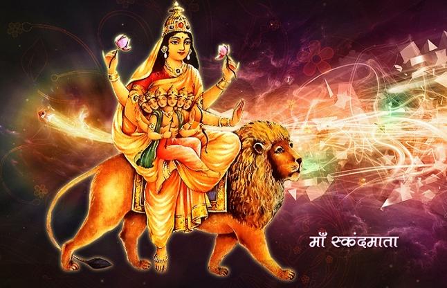 PunjabKesari, Fifth Day of Shardiya Navratri, Sakandmata, Devi Sakandmata, Shardiya Navratri, Mantra Bhajan Arti, Navratri 2019, शारदीय नवरात्रि, नवरात्रि 2019, shardiya navratri 2019, Maa Durga, Punjab kesari, hindu religion, hindu shastra, navratri pujan, Navratri dates, नवरात्रि