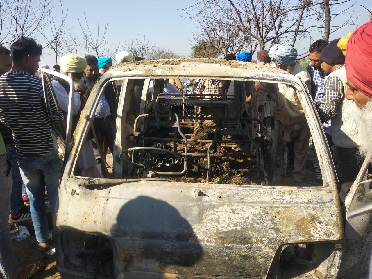 PunjabKesari, Bought school van killing 4 children for 20 thousand from scrap