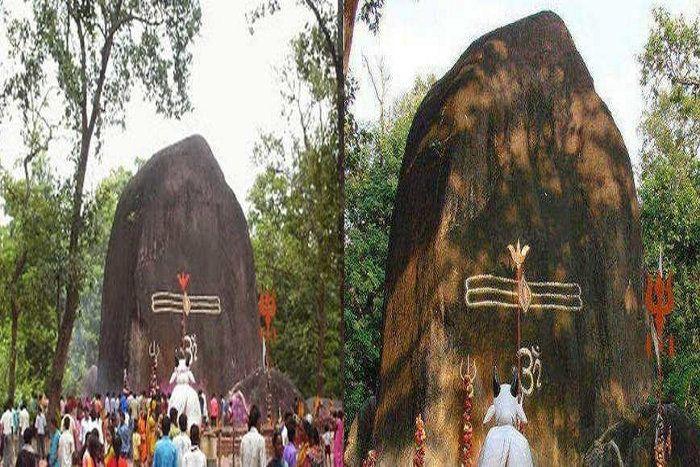 PunjabKesari, Worlds largest Shivling in Chhattisgarh, गांव मरोदा, Maroda, Dharmik Sathal