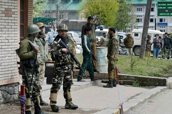 Image result for जम्मू-कश्मीर: श्रीनगर के पुराने हवाईअड्डे मार्ग पर आतंकवादियों के बीच मुठभेड़