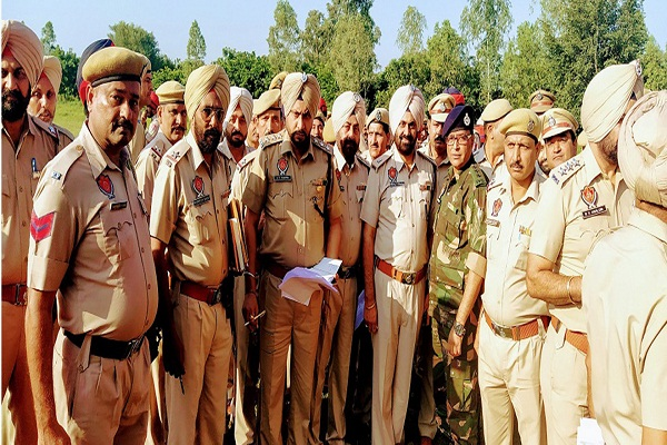 PunjabKesari, police started search operation after input of terrorist attack