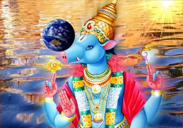 PunjabKesari Varaha Avatar