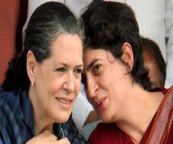 sonia s eye on preparations for priyanka s varanasi roadshow