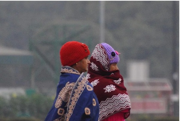 weather for haryana in winters
