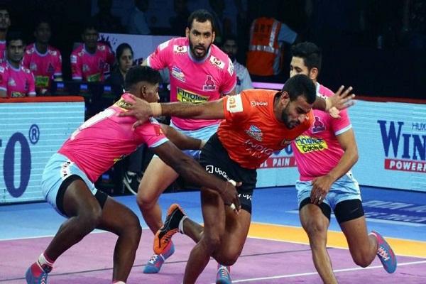 PunjabKesari, sports news, Kabaddi news hindi, Yu Mumba, Jaipur Pink Panthers, Pro Kabbadi League, Mumbai