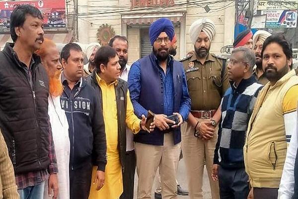 PunjabKesari, mayor and commissioner also held CP complaint