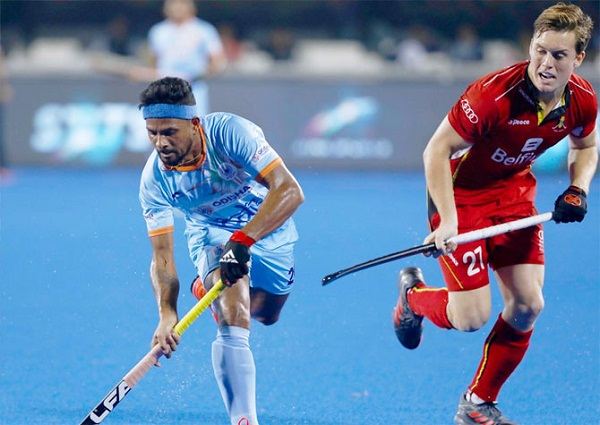 sports news, Cricket news in hindi, mens hockey, world cup 2018, India, Belgium, match draw, strategy changed, coach Harendra