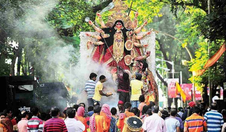 PunjabKesari Durga Puja enthusiasm like Kolkata in London