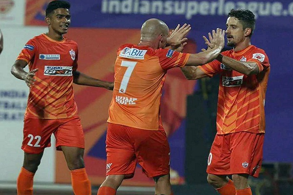 Sports news, Football news in hindi, Indian Super League2018, Pune, defeating, Goa, Marcelinho goal