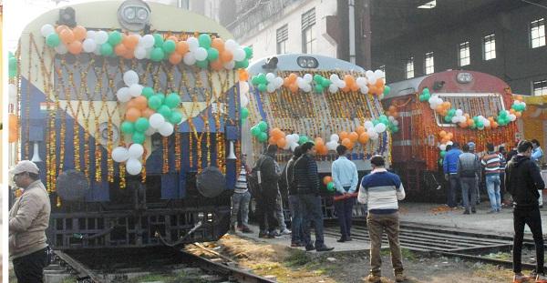 PunjabKesari, Railway infrastructure is getting stronger