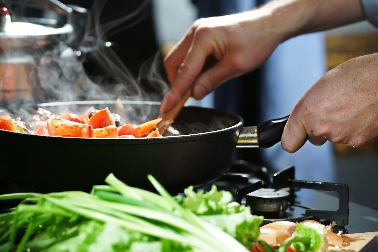PunjabKesari, cooking food image