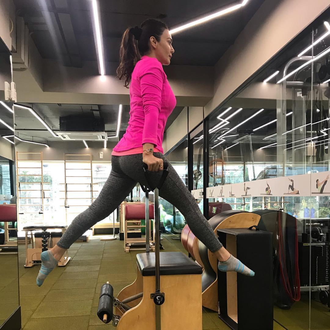 PunjabKesari, Preity Zinta Image, प्रिटी जिंटा फिटनेस सीक्रेट इमेज, Celebrity fitness Image