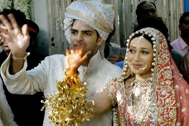 PunjabKesari, Karisma kapoor marriage pic