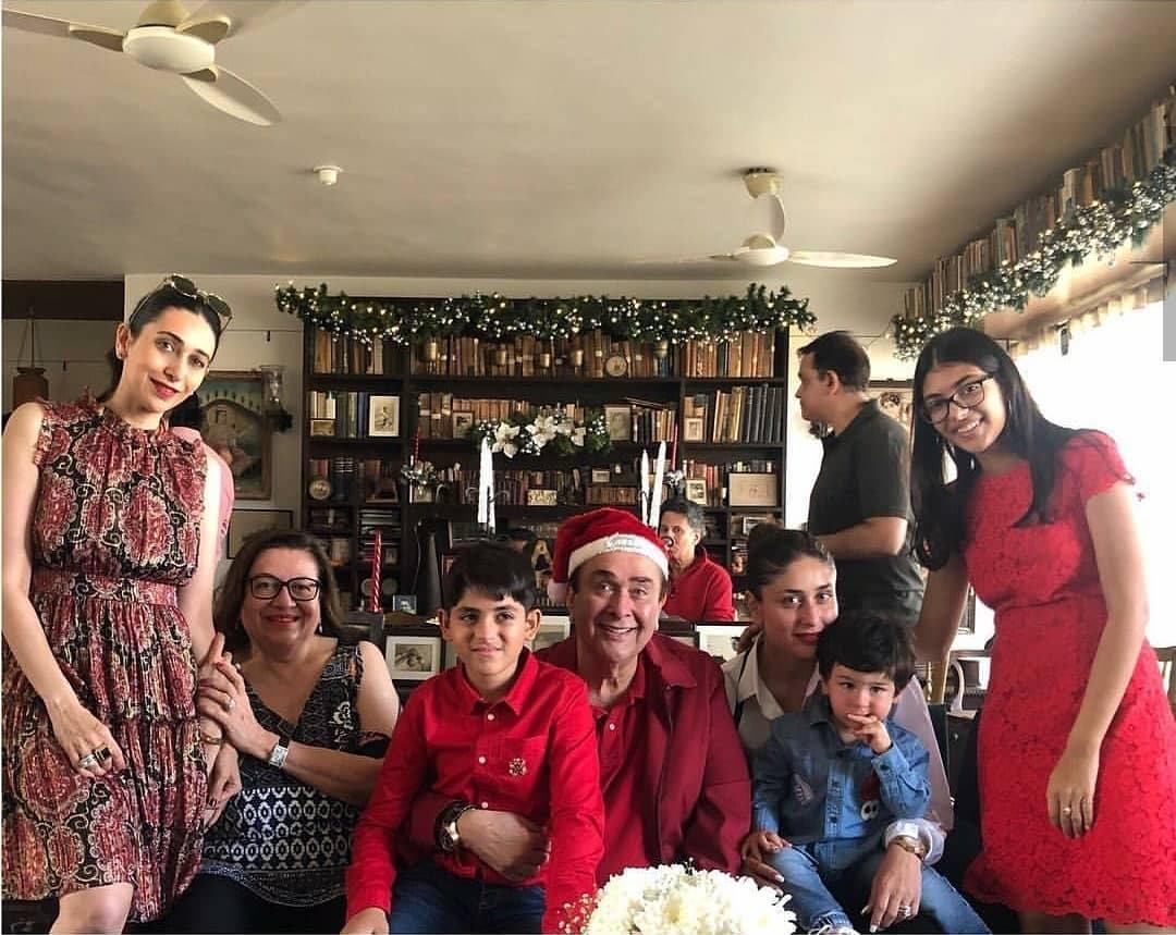 PunjabKesari, kapoor christmas celebration