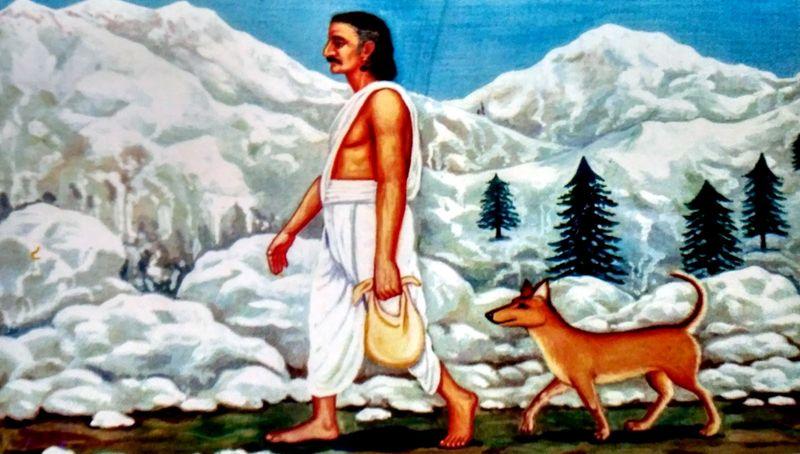 PunjabKesari Mahabharata Journey to the Door of Heaven