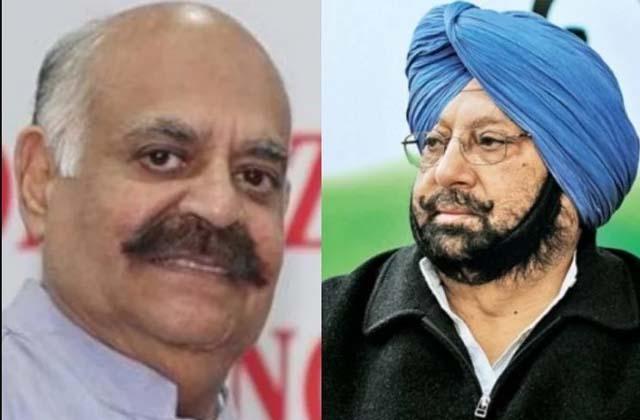 PunjabKesari, Punjab Governor and Chief Minister face to face