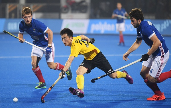 Sports news, Hockey news in hindi, hockey world cup 2018, France, beat, China, qualify in quarter-finals