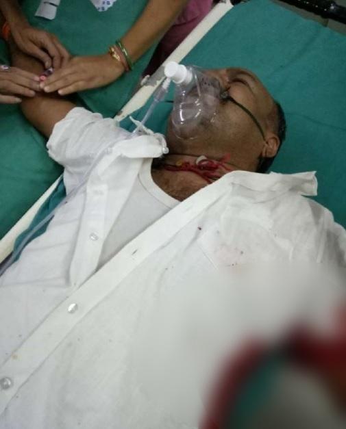 PunjabKesari, Madhya Pradesh News, Budhni News, SDM Court, Firing, Appeal, Masked, Police, Hospital, Hoshangabad, Bhopal
