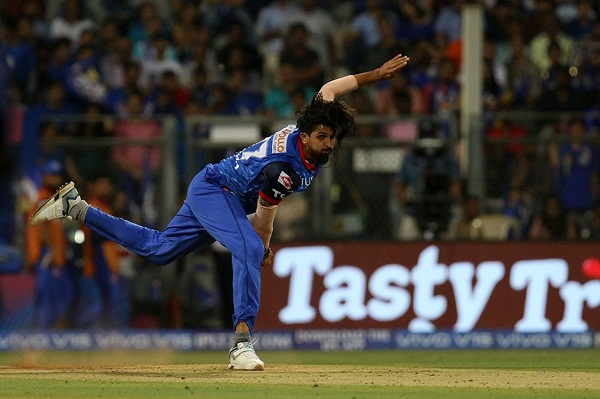 Cricket news in hindi, IPL 2019, DC vs MI, Ishant sharma, become nervous, Rishabh Pant, Batting