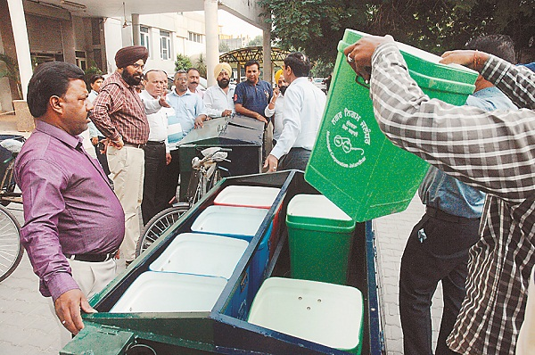 PunjabKesari, Quality of compost made from waste is better than urea