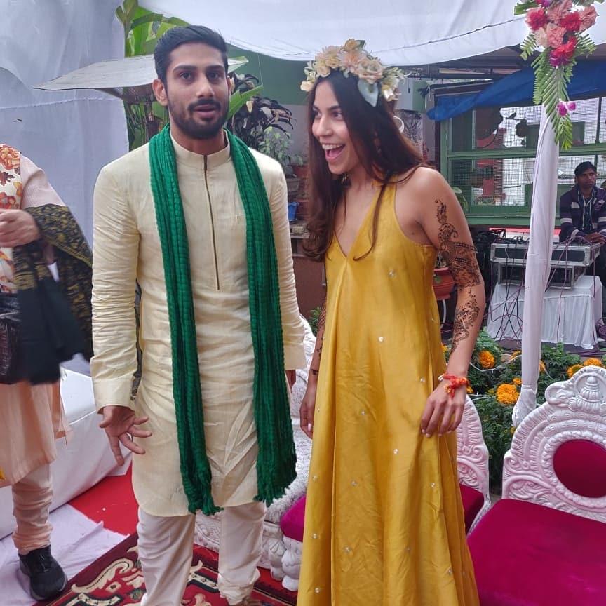 PunjabKesari, Haldi ceremony