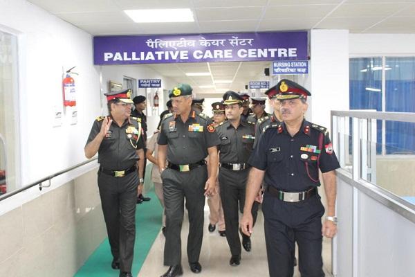 PunjabKesari, Lt. Gen. R.P. Singh visits Jalandhar Cantonment