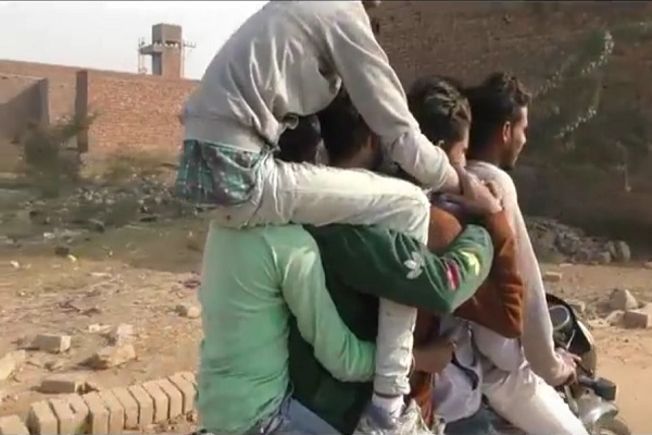 PunjabKesari, Stuntbah, Artist, Circus, National Highway, Youth