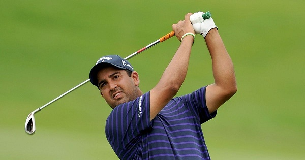 sports news, Golf news in hindi, Indian golfer Shiv Kapur, sixth place, golf Queen's cup 2018