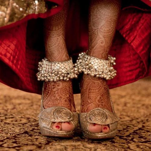 PunjabKesari, Bridal Payal Design Images,ब्राइडल पायल डिज़ाइन इमेज