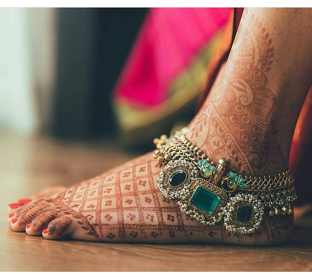 PunjabKesari, Bridal Payal Design Images, ब्राइडल पायल डिज़ाइन इमेज