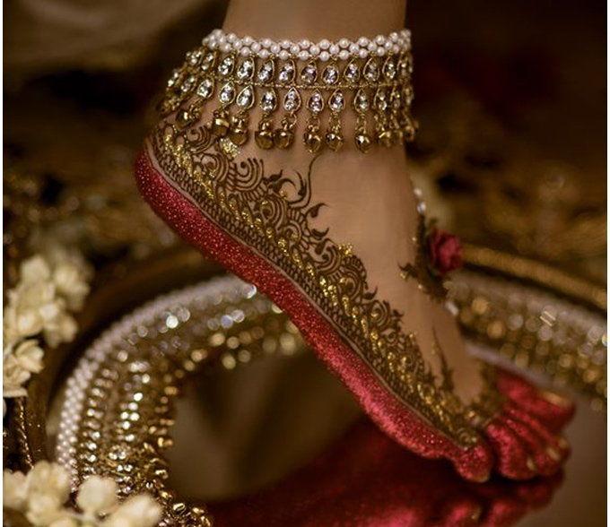 PunjabKesari, Latest Wedding Payal Design, लेटेस्ट वेडिंग पायल डिज़ाइन