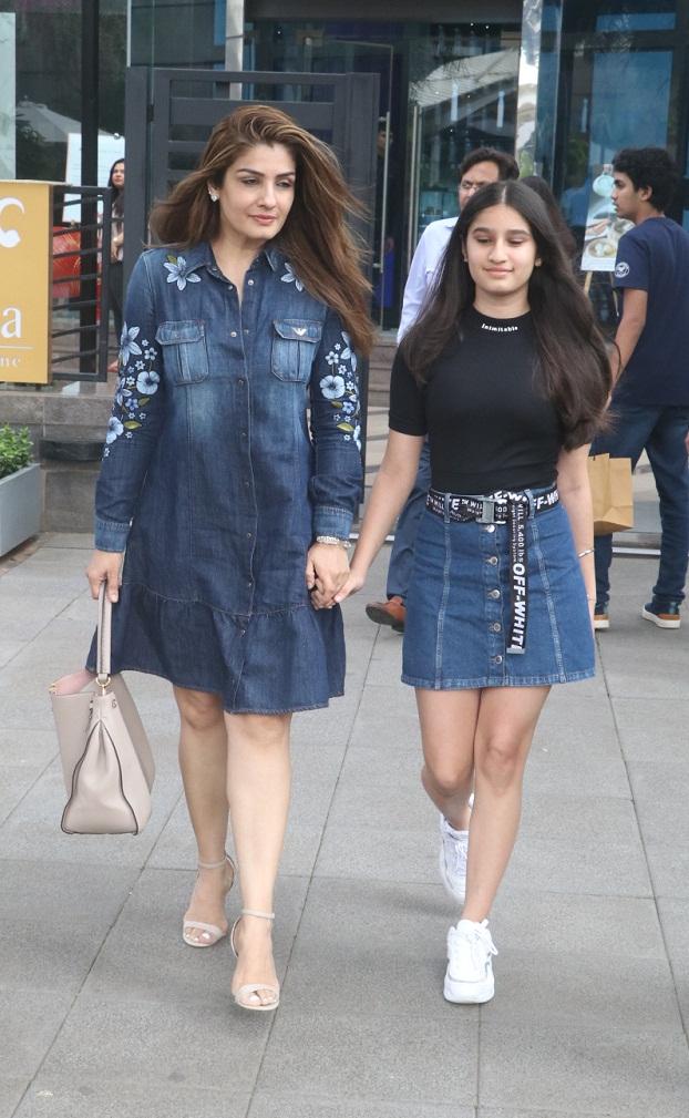 Bollywood Tadka,रवीना टंडन इमेज, रवीना टंडन फोटो, रवीना टंडन पिक्चर,,राशा थडानी इमेज,राशा थडानी फोटो,राशा थडानी पिक्चर