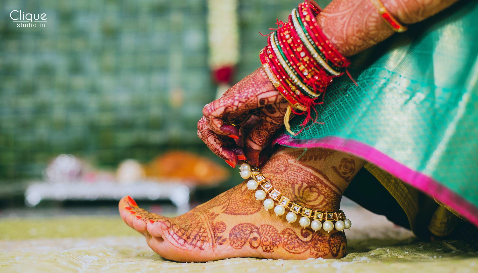 PunjabKesari,Trendy Payal Designs For Brides, ट्रेंडी पायल डिज़ाइन फॉर ब्राइड्स