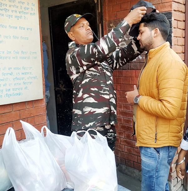 PunjabKesari, CRPF handled duty in jail