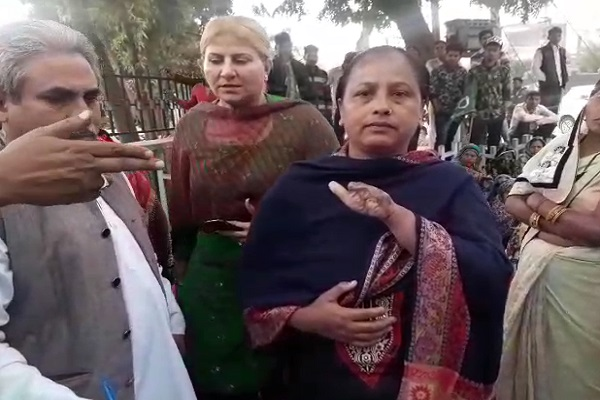 PunjabKesari, Justice, Women, Police Commissioner, Office, Enclosures