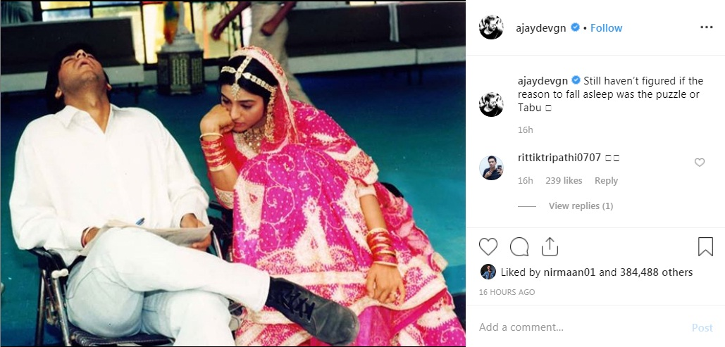 Bollywood Tadka,अजय देवगन इमेज,अजय देवगन फोटो,अजय देवगन पिक्चर,तब्बू इमेज,तब्बू फोटो,तब्बू पिक्चर