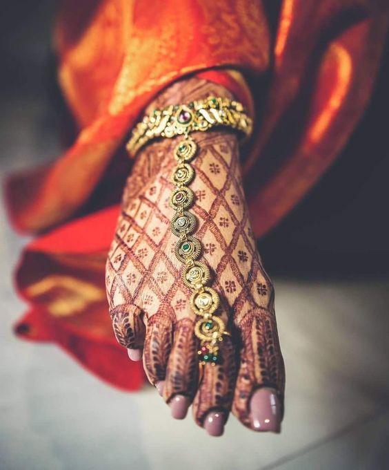 PunjabKesari, Latest Bridal Payal Design, लेटेस्ट ब्राइडल पायल डिज़ाइन