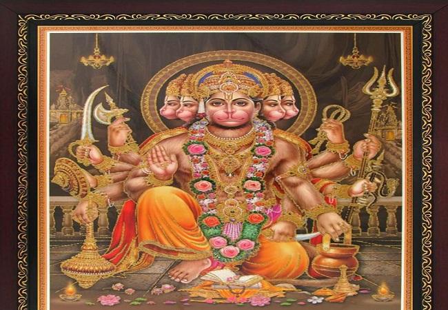 PunjabKesari, Hanuman Ji, Lord Hanuman, Bajranbali, Bajrangbali Image