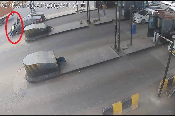 PunjabKesari, toll, Photo, Incident