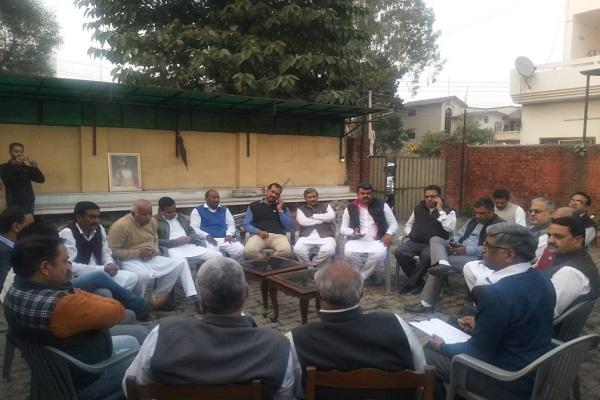 PunjabKesari, Congress, Rahul, Tanwar