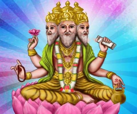 PunjabKesari, Brahma Ji, ब्रह्मा, ब्रह्मा जी