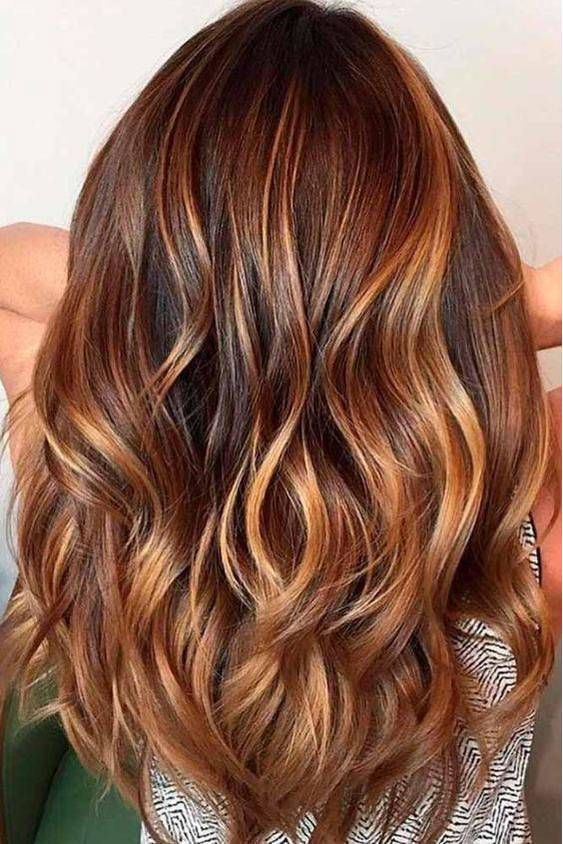 PunjabKesari, Nari, Chestnut Brown Hair Color Image, Hair color Trend 2019