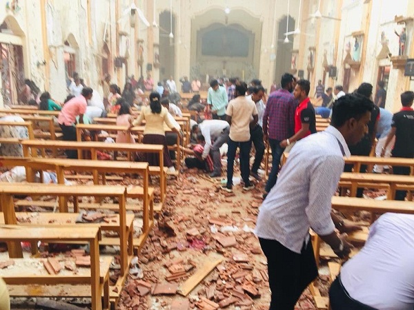 sri lanka serial blast live video