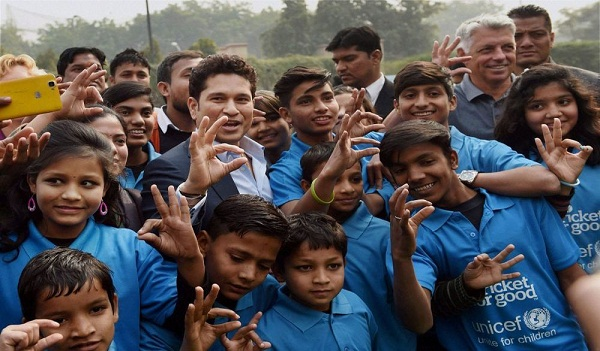 Sports news, Cricket news in hindi, Sachin Tendulkar, Tmc school, Speaking the Future, campaign, India participant in sports