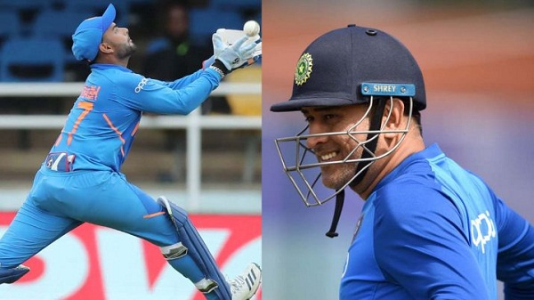 PunjabKesari, dhoni photo, rishabh pant photo, ms dhoni images