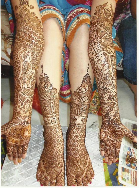 PunjabKesari, Mehndi Design Image, Best Portraits Mehndi Design Image, बेस्ट पोर्ट्रेट मेहँदी डिज़ाइन इमेज