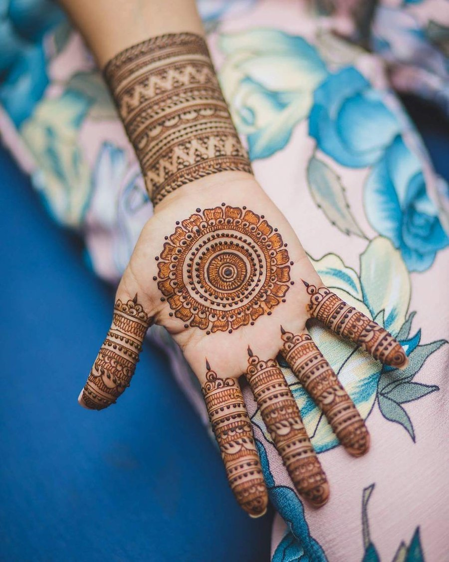 PunjabKesari, सिंपल मेहंदी डिजाइन इमेज, सिंपल मेहंदी डिजाइन फोटो,Simple Mehndi Design For Left Hand, सिंपल मेहंदी डिजाइन फॉर लेफ्ट हैंड