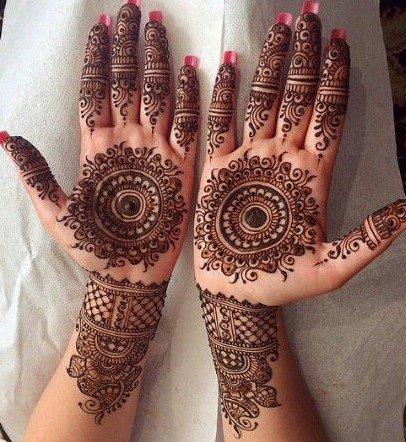 PunjabKesari, सिंपल मेहंदी डिजाइन इमेज, सिंपल मेहंदी डिजाइन फोटो,Simple Mehndi Designs For Front Hands, सिंपल मेहंदी डिजाइनफॉर फ्रंट हैंड