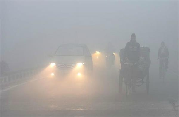 outbreak of cold in up people suffering from fog and fog