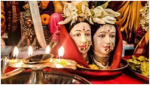 PunjabKesari Jyeshtha Gauri Visarjan